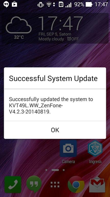 Asus Zenfone 4 (A450CG) firmware 4.2.3