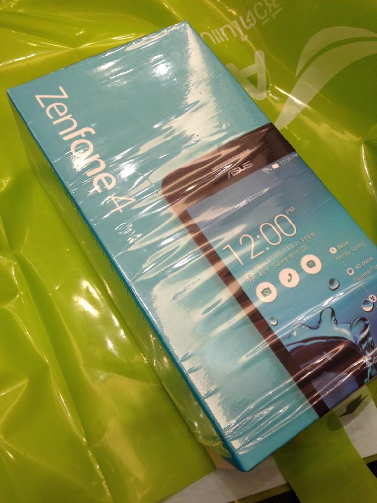 กล่อง Asus Zenfone 4 (A450CG) สีฟ้า